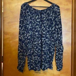 Pretty pheasant style blouse